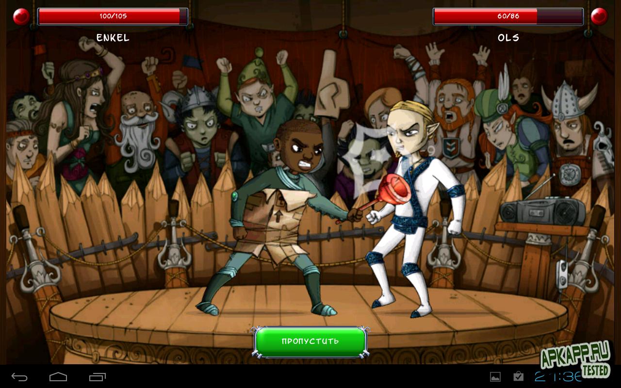 "Игра ""Angry Heroes: Злые Герои Онлайн"" для планшетов на Android"
