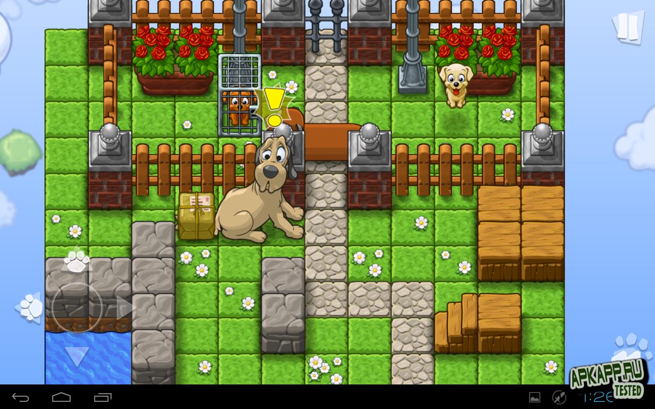 """Игра """"Save the Puppies Premium"""" для планшетов на Android"""