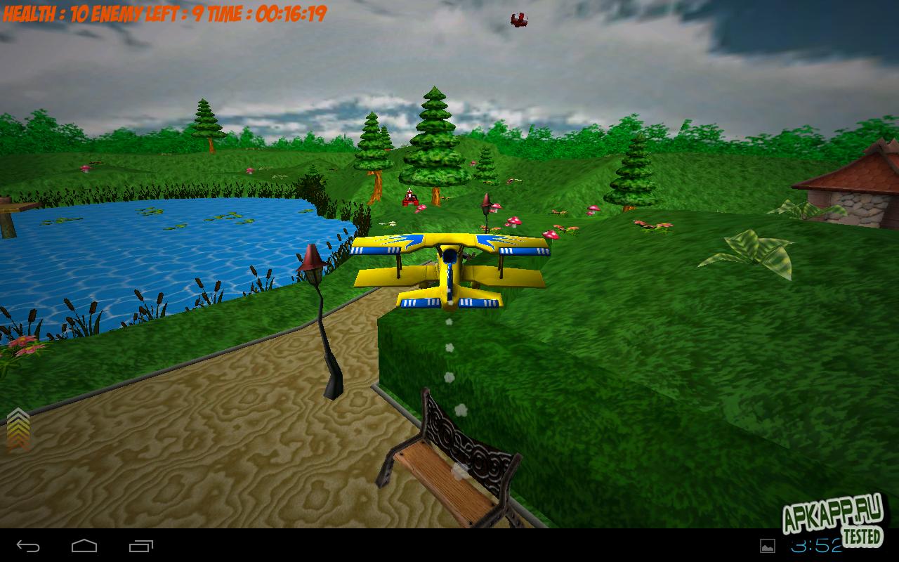 "Игра ""Teddy Bear Defender"" для планшетов на Android"