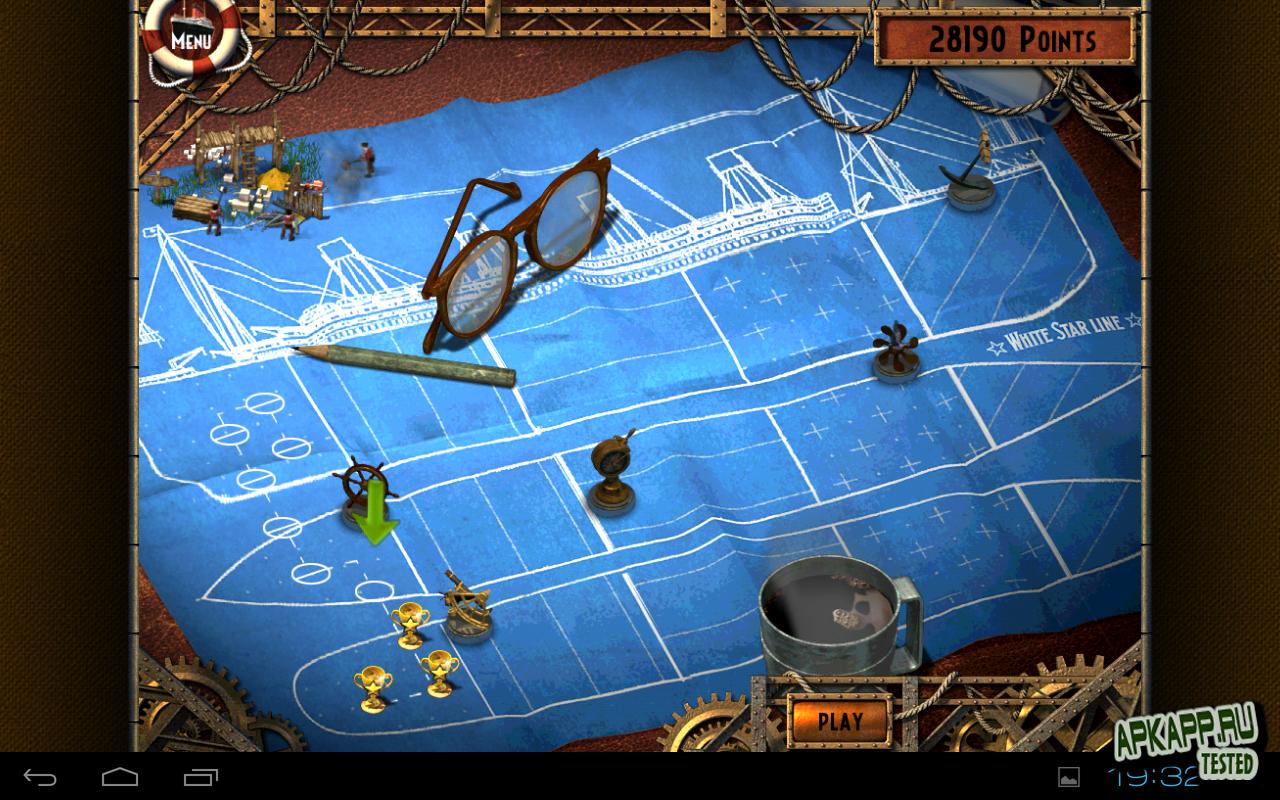 """Игра """"Monument Builders: Titanic"""" для планшетов на Android"""