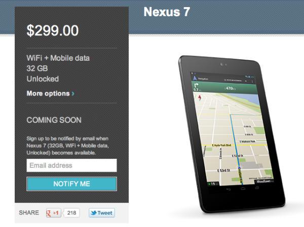 Как купить планшет, смартфон Nexus в Google Play Store