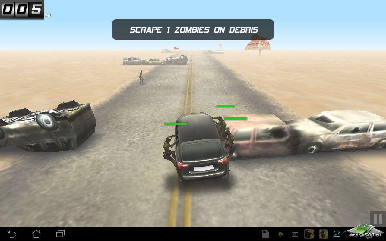 """Игра """"Zombie Highway"""" для планшетов на Android"""