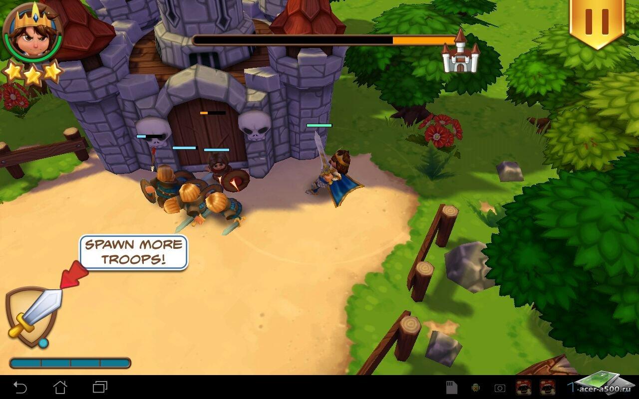 "Игра ""Royal Revolt!"" для планшетов на Android"