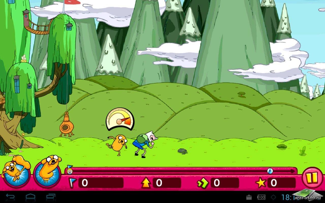 "Игра ""Jumping Finn"" для планшетов на Android"
