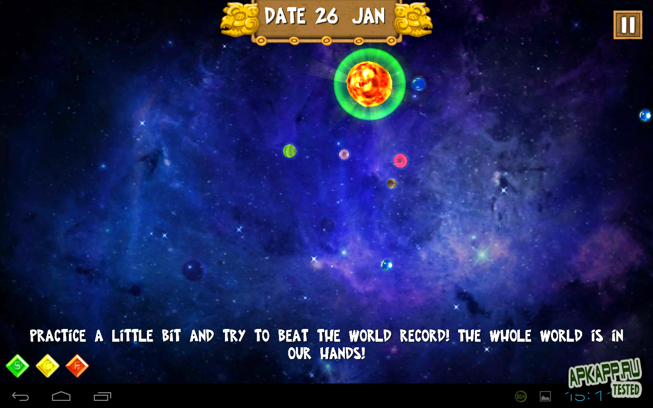 "Игра ""Mayan Prophecy Pro"" на Андроид"