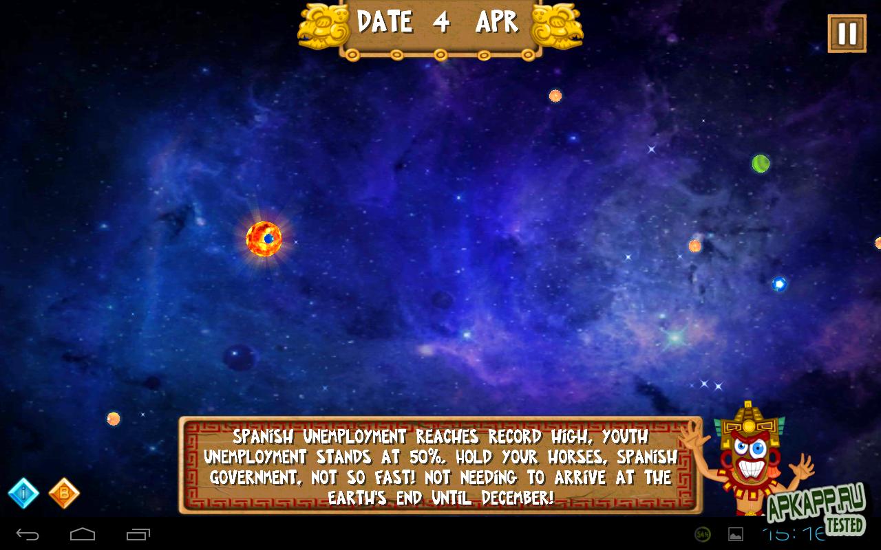 "Игра ""Mayan Prophecy Pro"" для планшетов на Android"