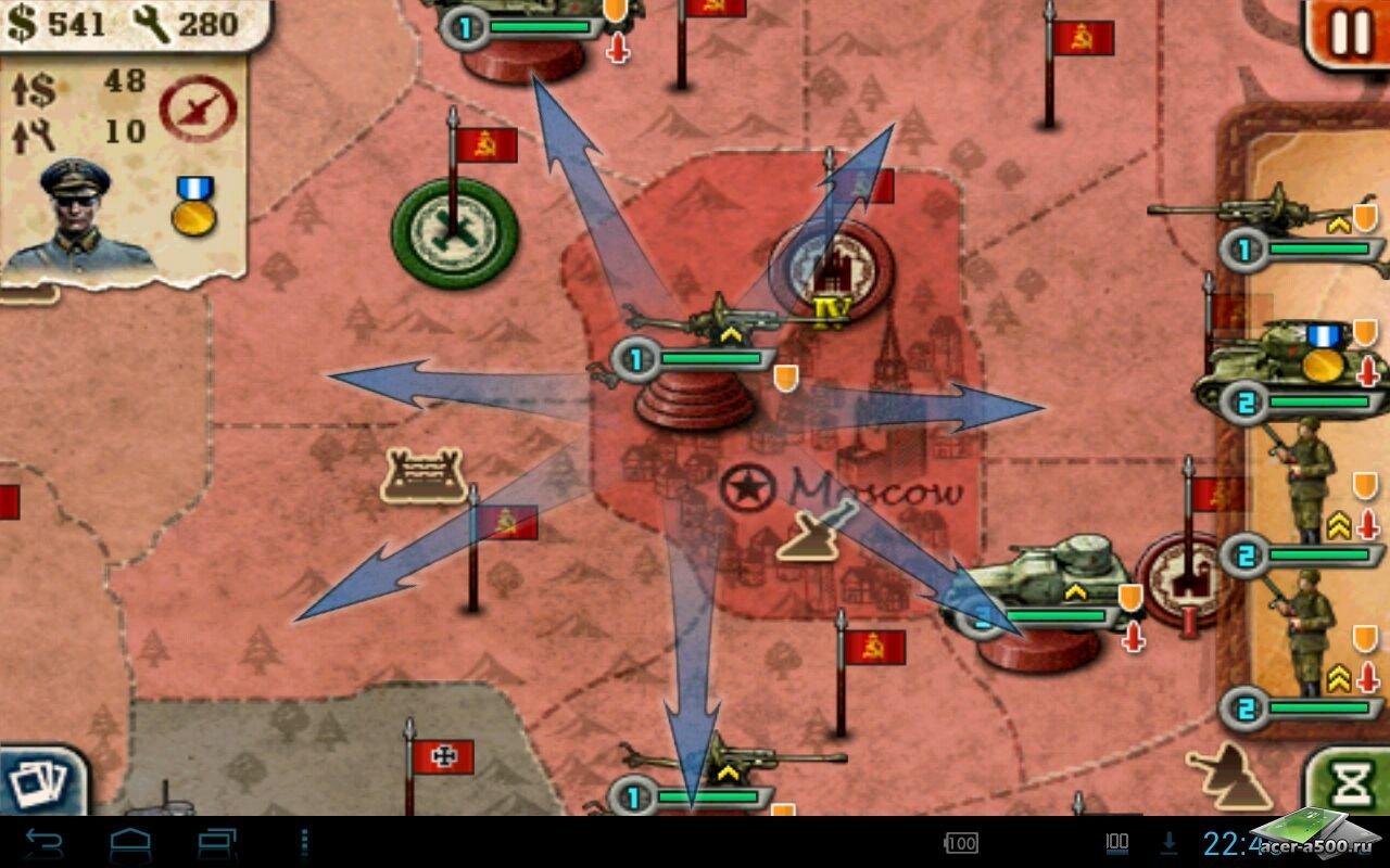 "Игра ""World Conqueror 2"" для планшетов на Android"