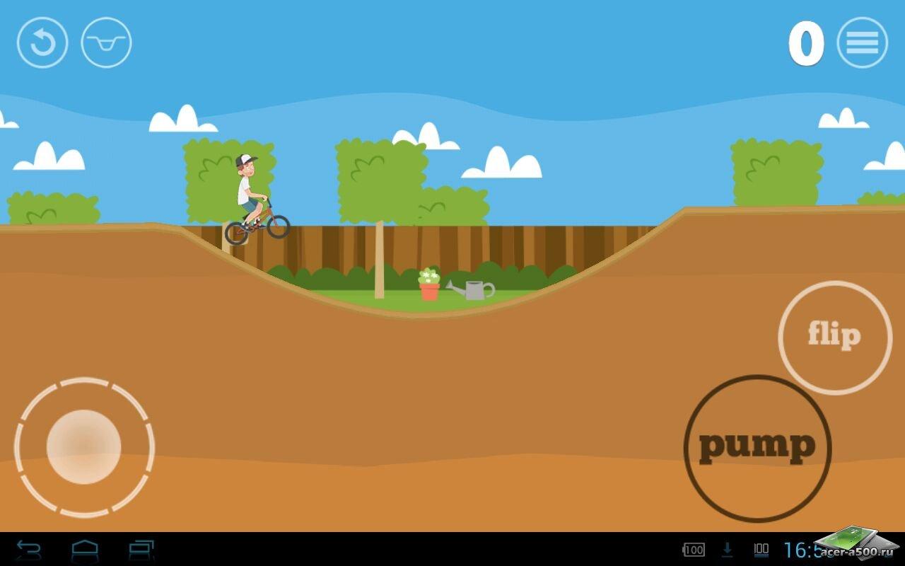 """Игра """"Pumped: BMX"""" на Андроид"""