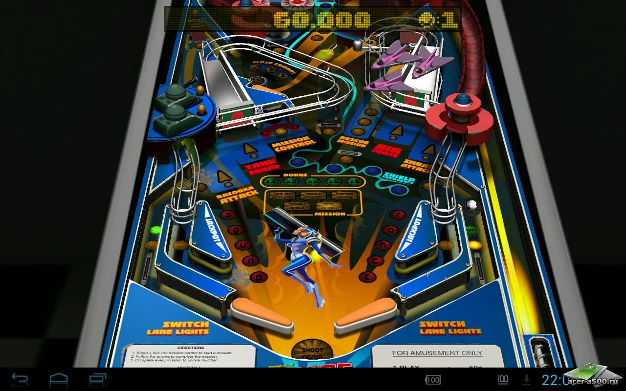 "Игра ""Revenge of the Rob-O-Bot"" для планшетов на Android"