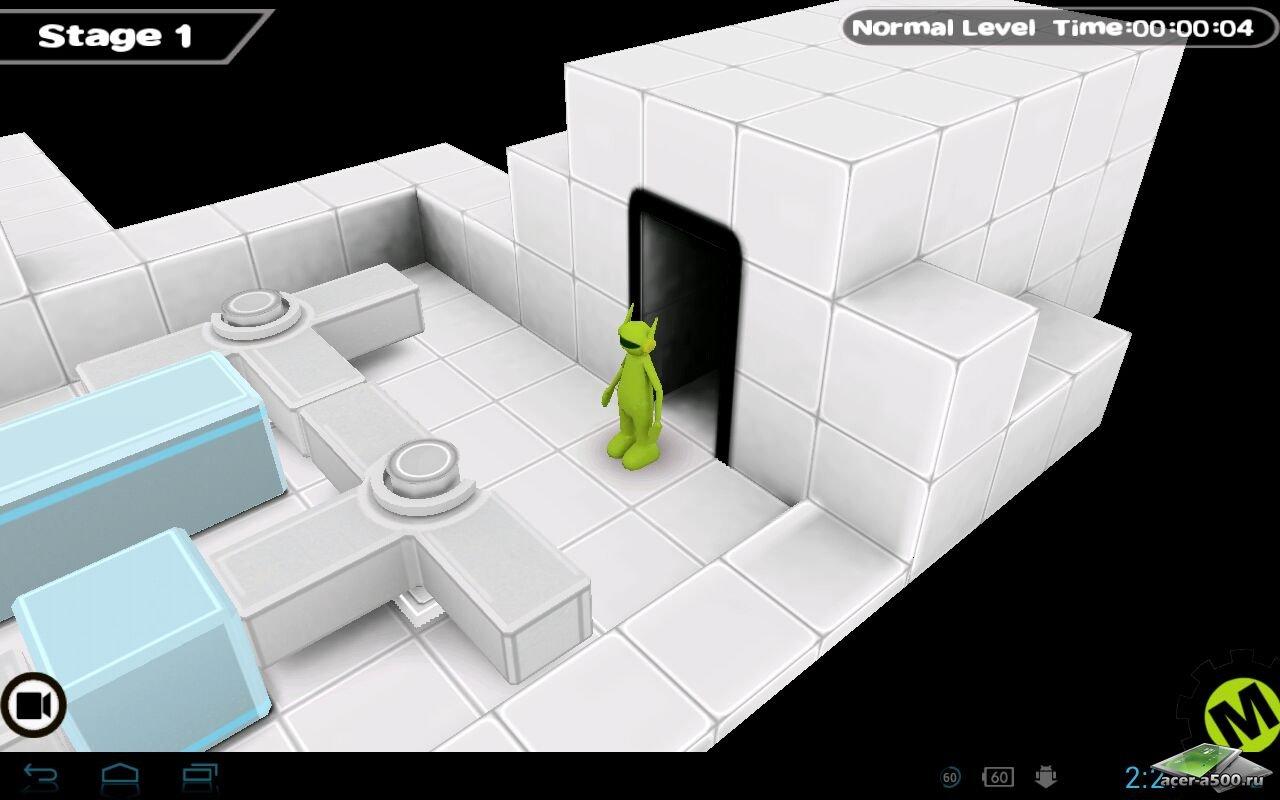 """Игра """"Lime 3D"""" на Андроид"""