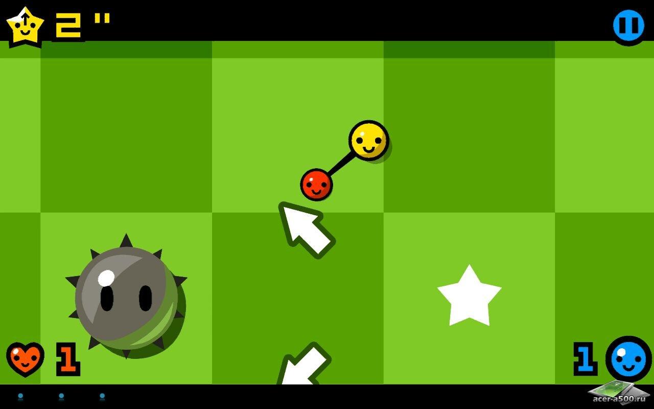 "Игра ""TwinSpin"" для планшетов на Android"