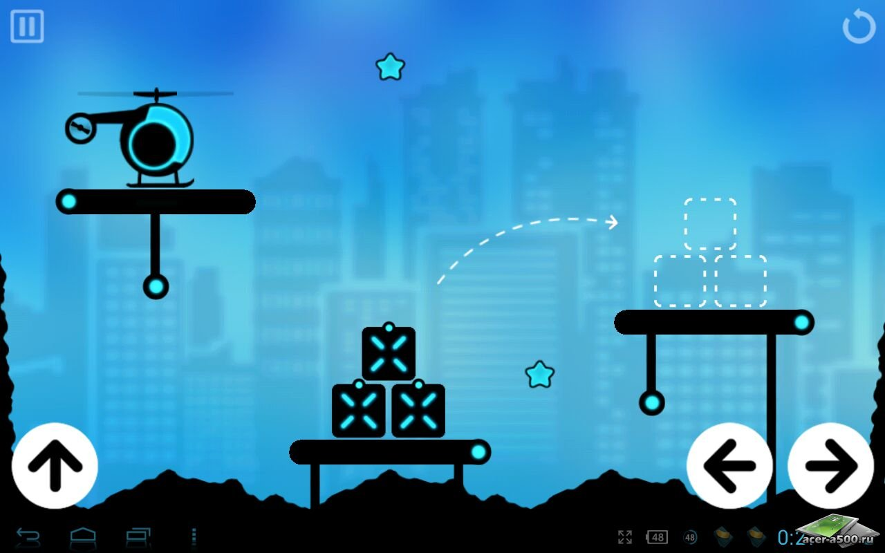 """Игра """"Fly Cargo"""" на Андроид"""