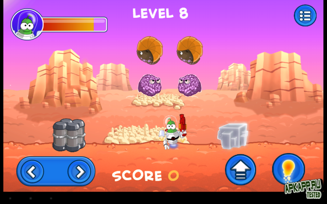 "Игра ""Bert On Mars"" для планшетов на Android"