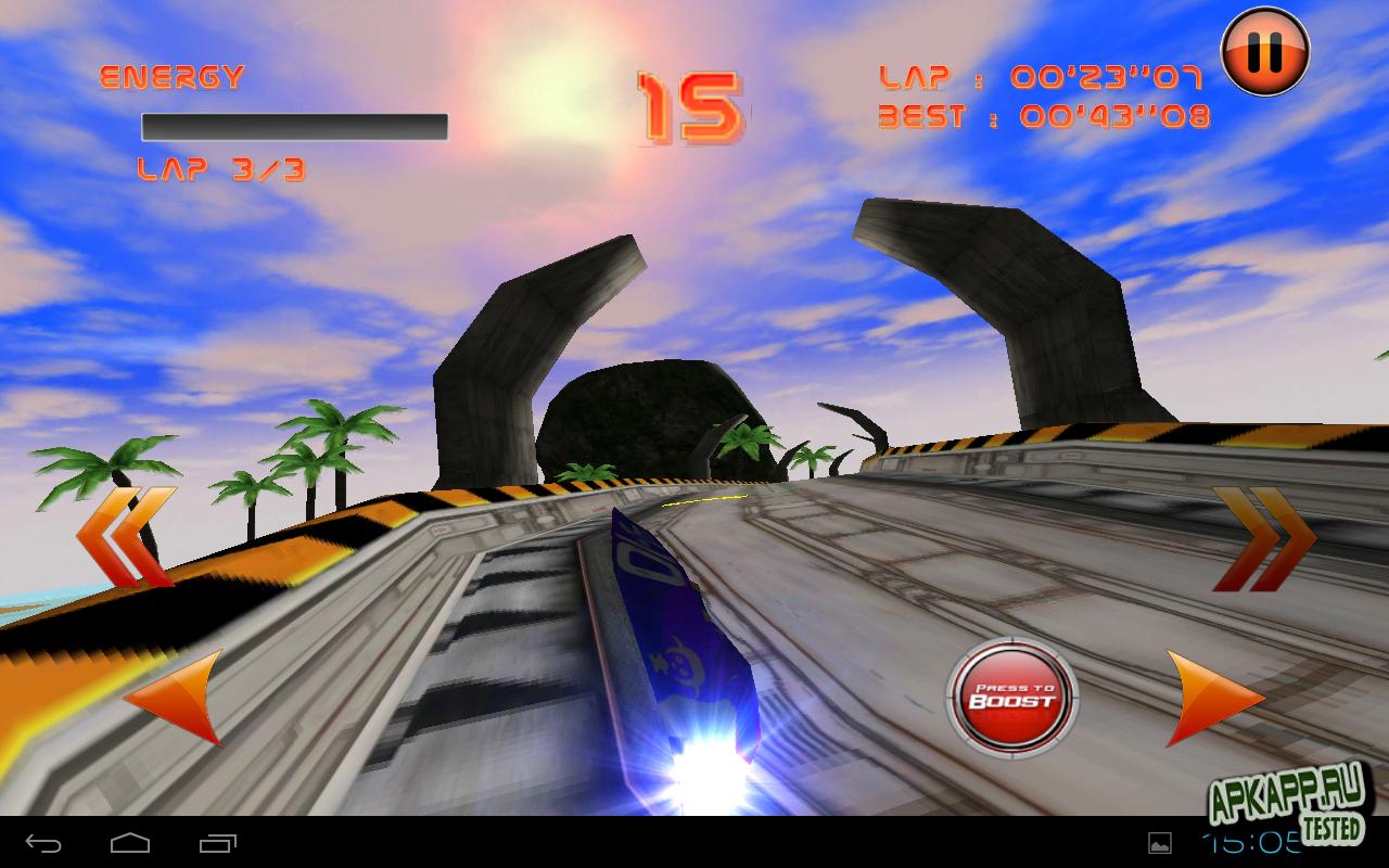 "Игра ""LevitOn Racers"" на Андроид"
