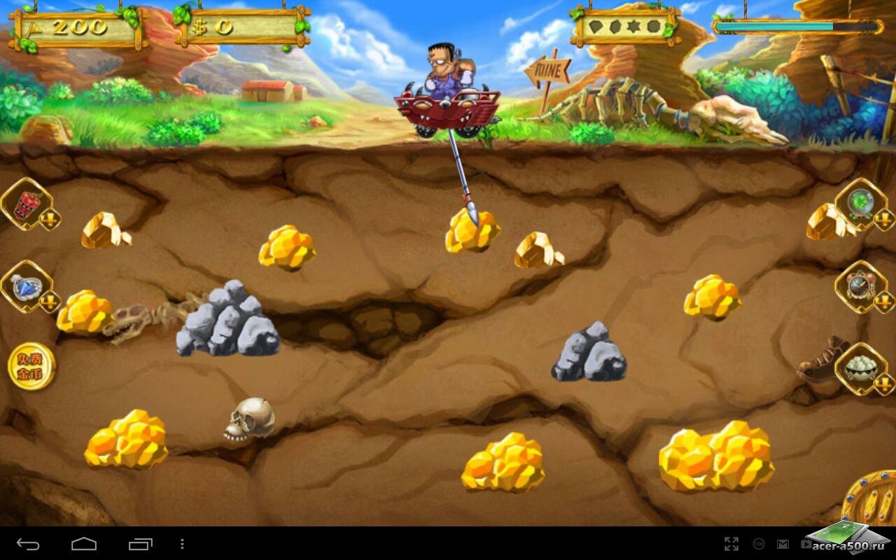 """Игра """"New Gold Miner"""" для планшетов на Android"""