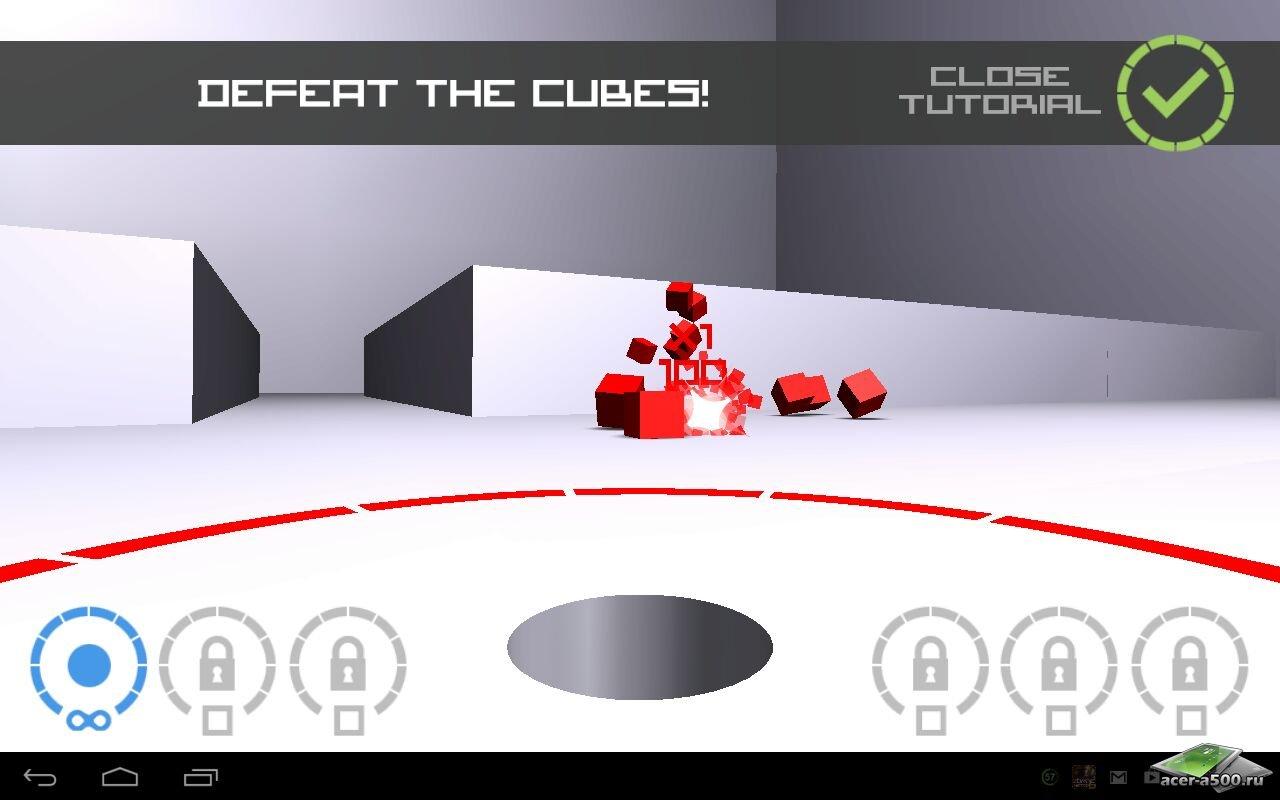"""Игра """"Cubes vs. Spheres"""" на Андроид"""