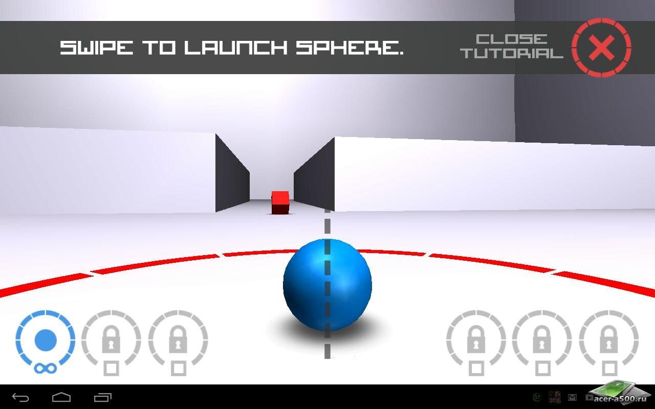 """Игра """"Cubes vs. Spheres"""" для планшетов на Android"""