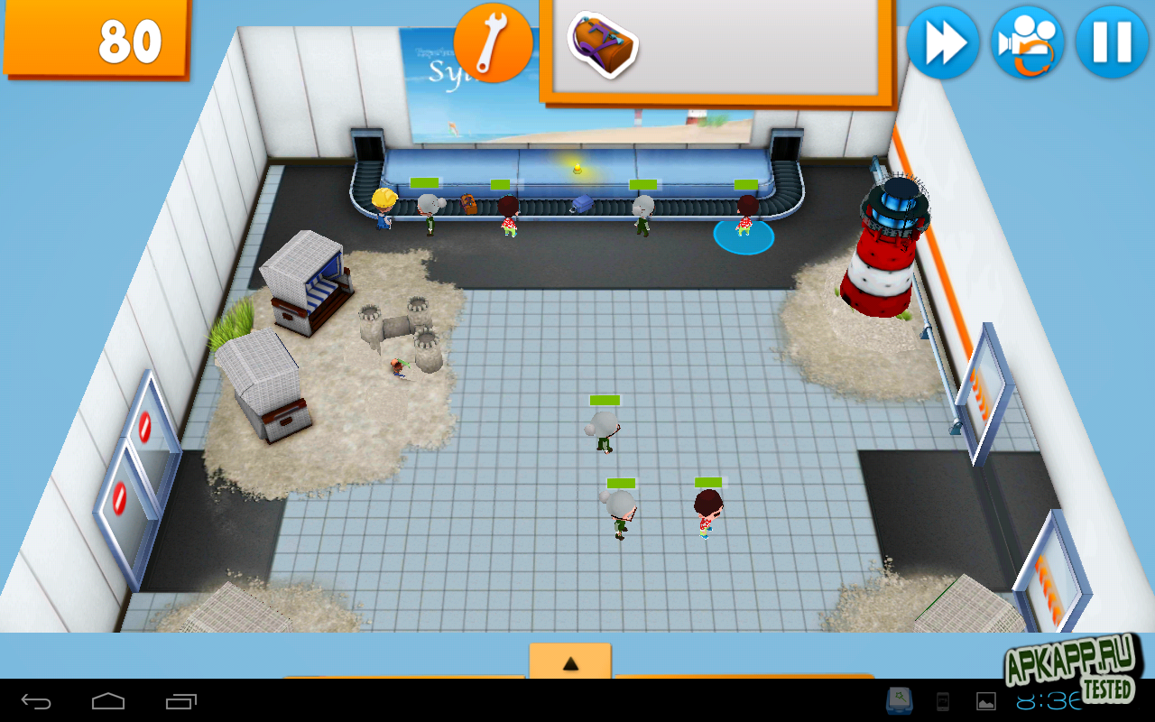 "Игра ""Busy Bags"" для планшетов на Android"