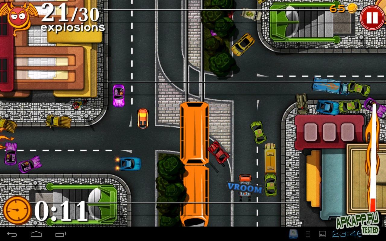 """Игра """"Bad Traffic"""" для планшетов на Android"""