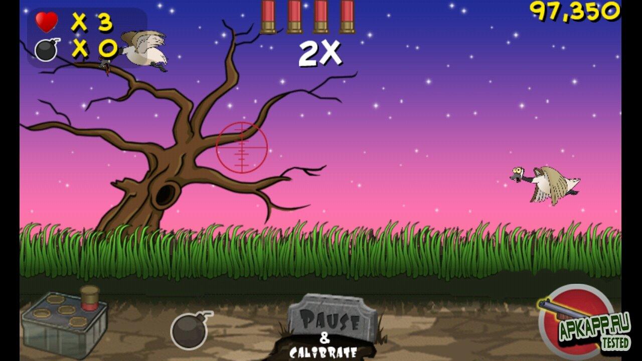 """Игра """"Zombie Duck Hunt"""" для планшетов на Android"""