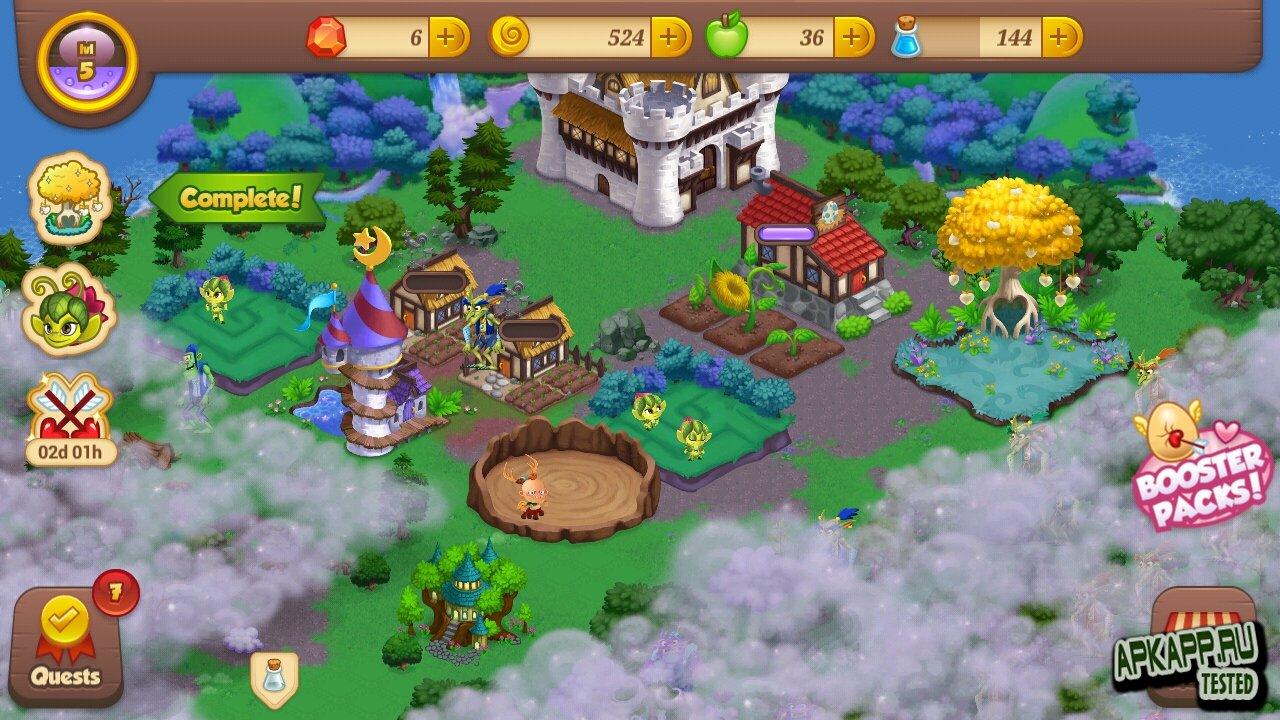 "Игра ""Tiny Castle"" для планшетов на Android"