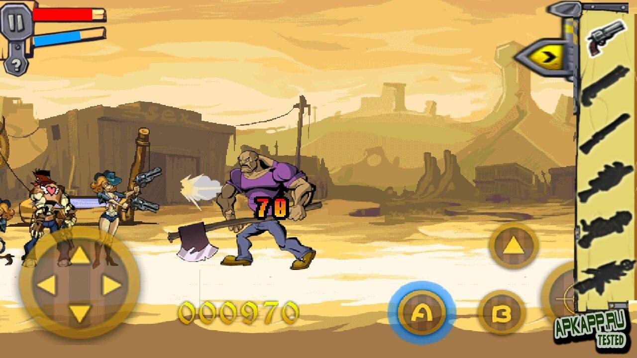 "Игра ""Angry Cowboy"" для планшетов на Android"