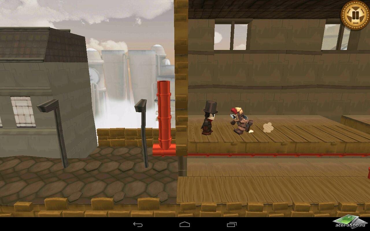 "Игра ""Grudger"" для планшетов на Android"