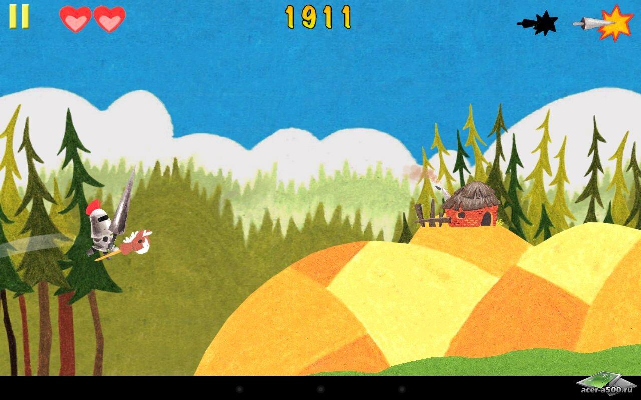 """Игра """"Lame Castle HD"""" для планшетов на Android"""