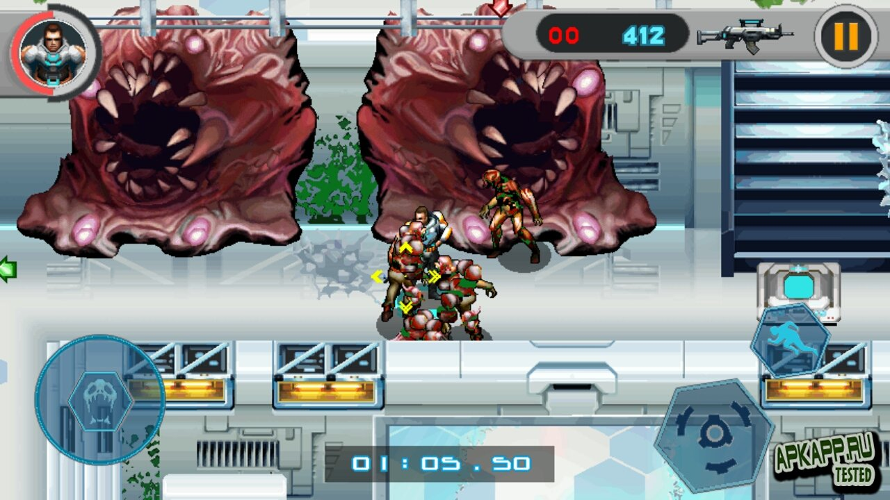 "Игра ""Alien Quarantine"" для планшетов на Android"