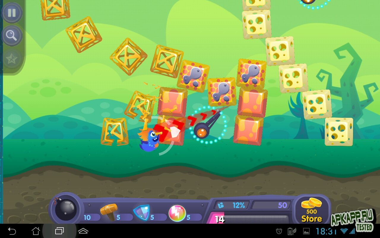 "Игра ""Yumby Smash"" для планшетов на Android"