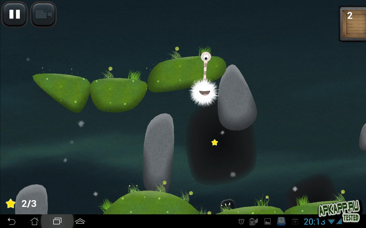 "Игра ""Tupsu-The Furry Little Monster"" на Андроид"