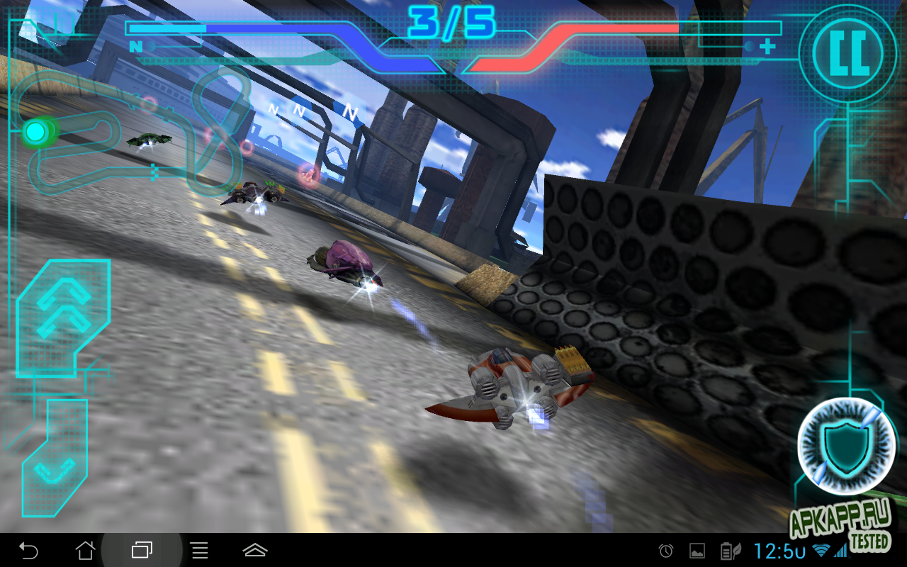 """Игра """"Protoxide: Смертельные гонки"""" для планшетов на Android"""