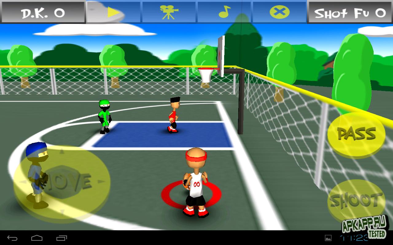 """Игра """"Funky Hoops"""" для планшетов на Android"""
