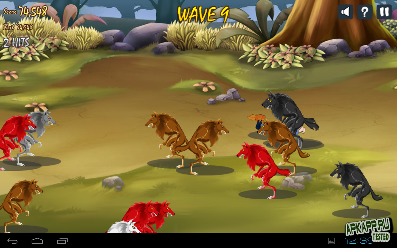 "Игра ""When Lycans Attack"" для планшетов на Android"