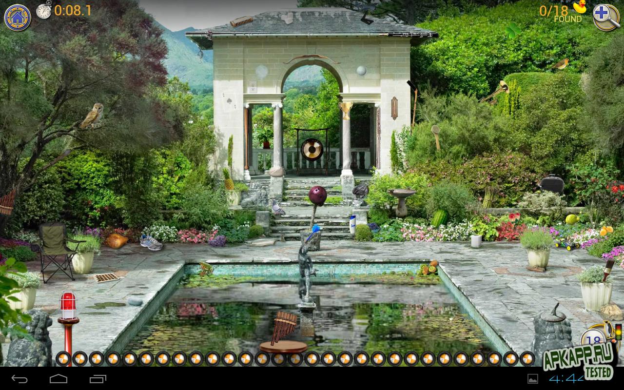 """Игра """"Hidden Objects Quest"""" для планшетов на Android"""