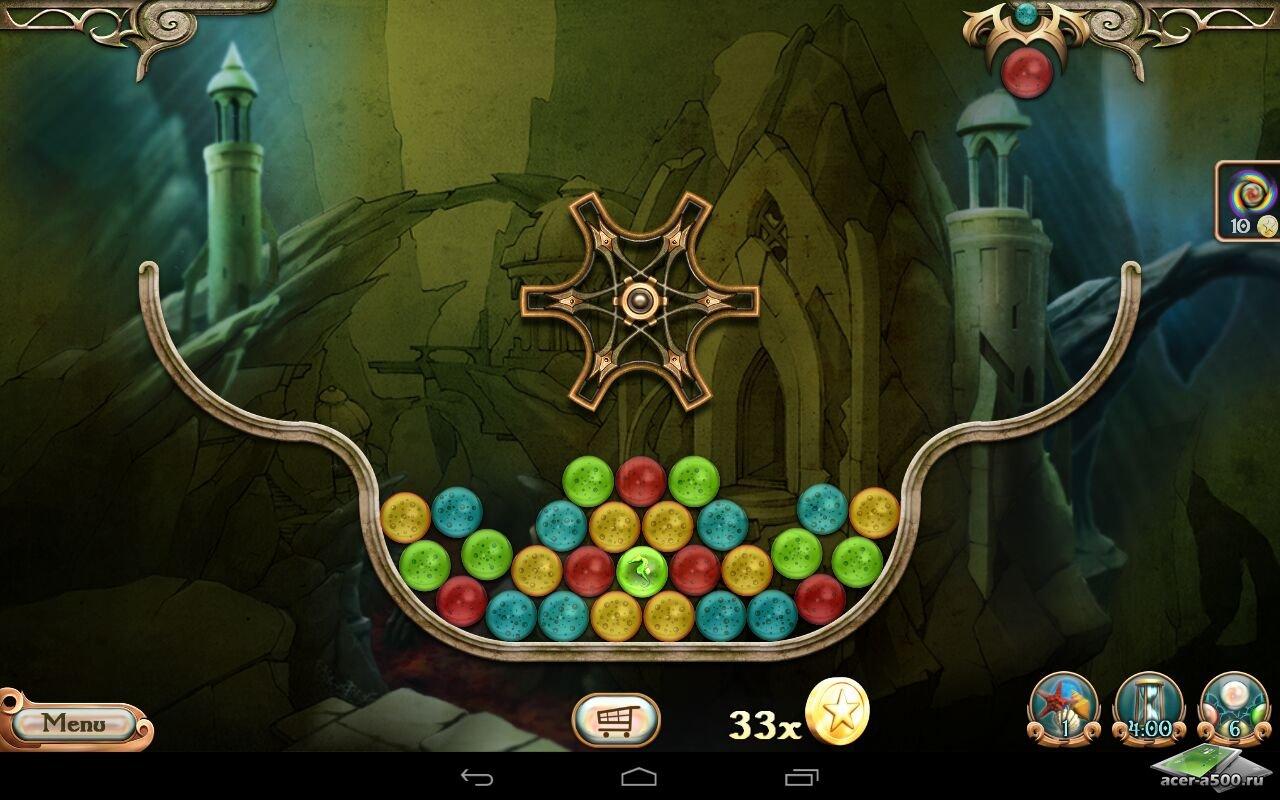 "Игра ""Atlantis: Pearls of the Deep"" на Андроид"