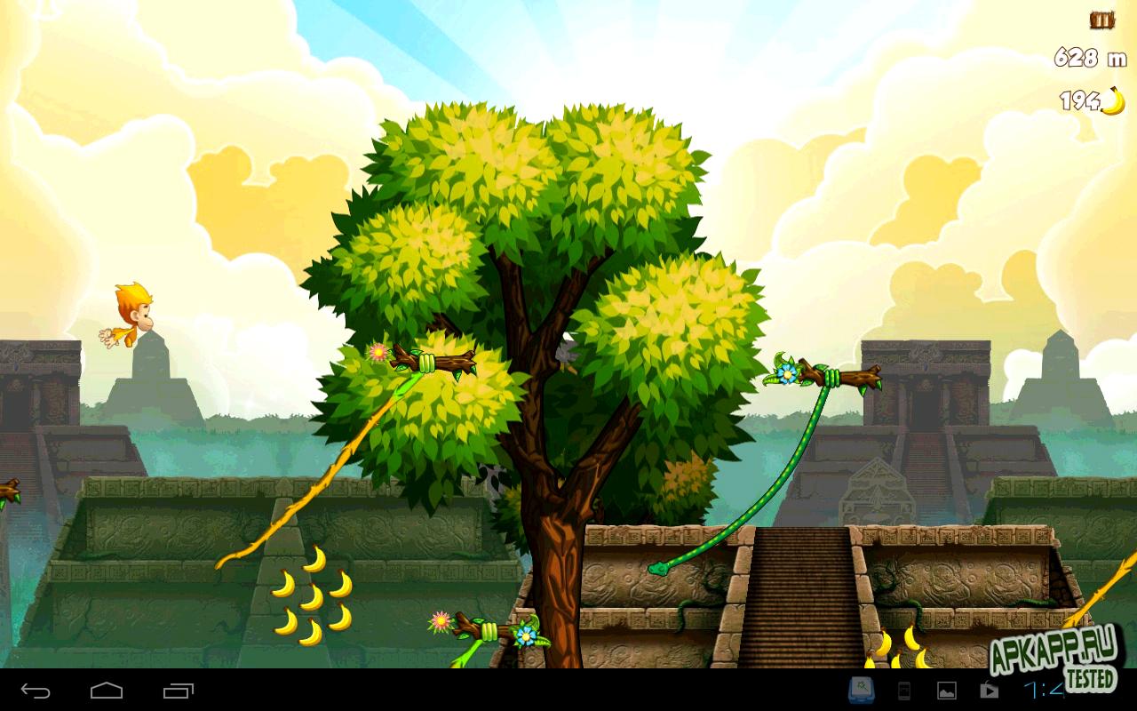 """Игра """"Benji Bananas"""" для планшетов на Android"""