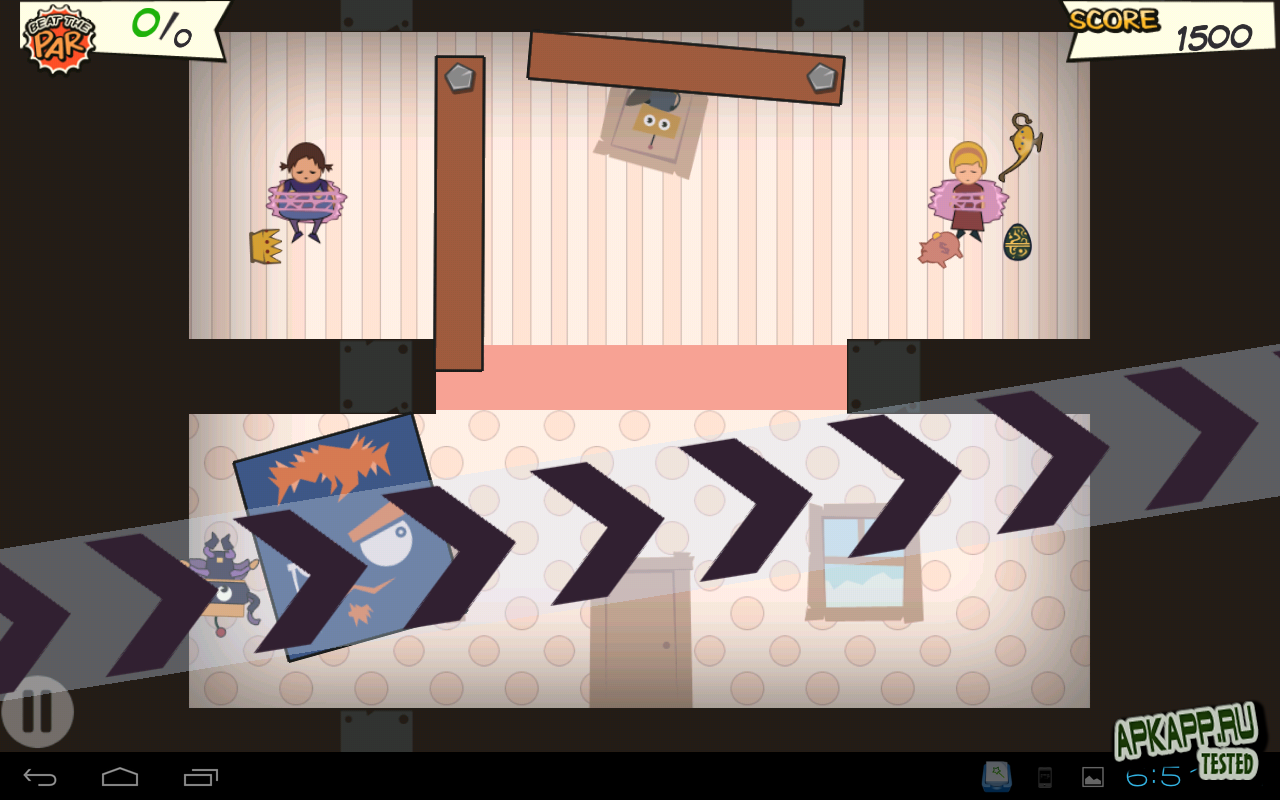 Игра Roby Tumbler для планшетов на Android