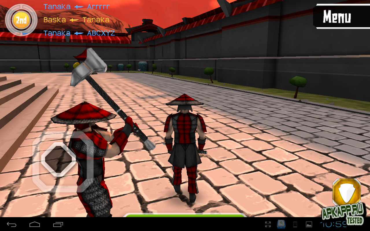 "Игра ""Cutting Edge Arena"" для планшетов на Android"