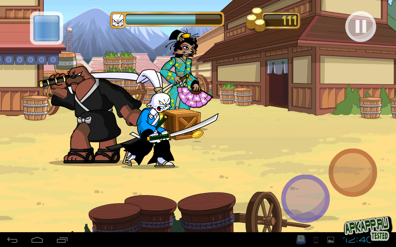 "Игра ""Usagi Yojimbo: Way of the Ronin"" для планшетов на Android"