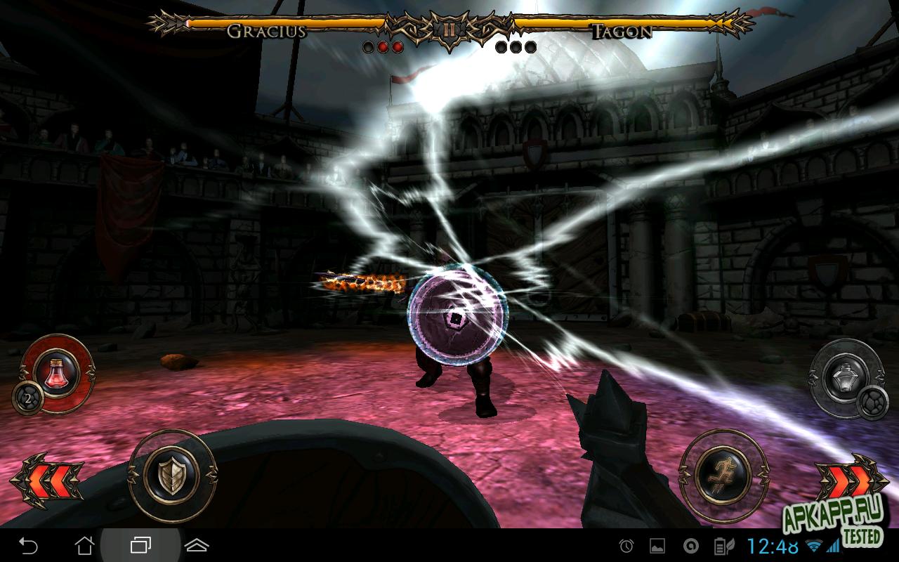 """Игра """"Rage of the Gladiator"""" на Андроид"""