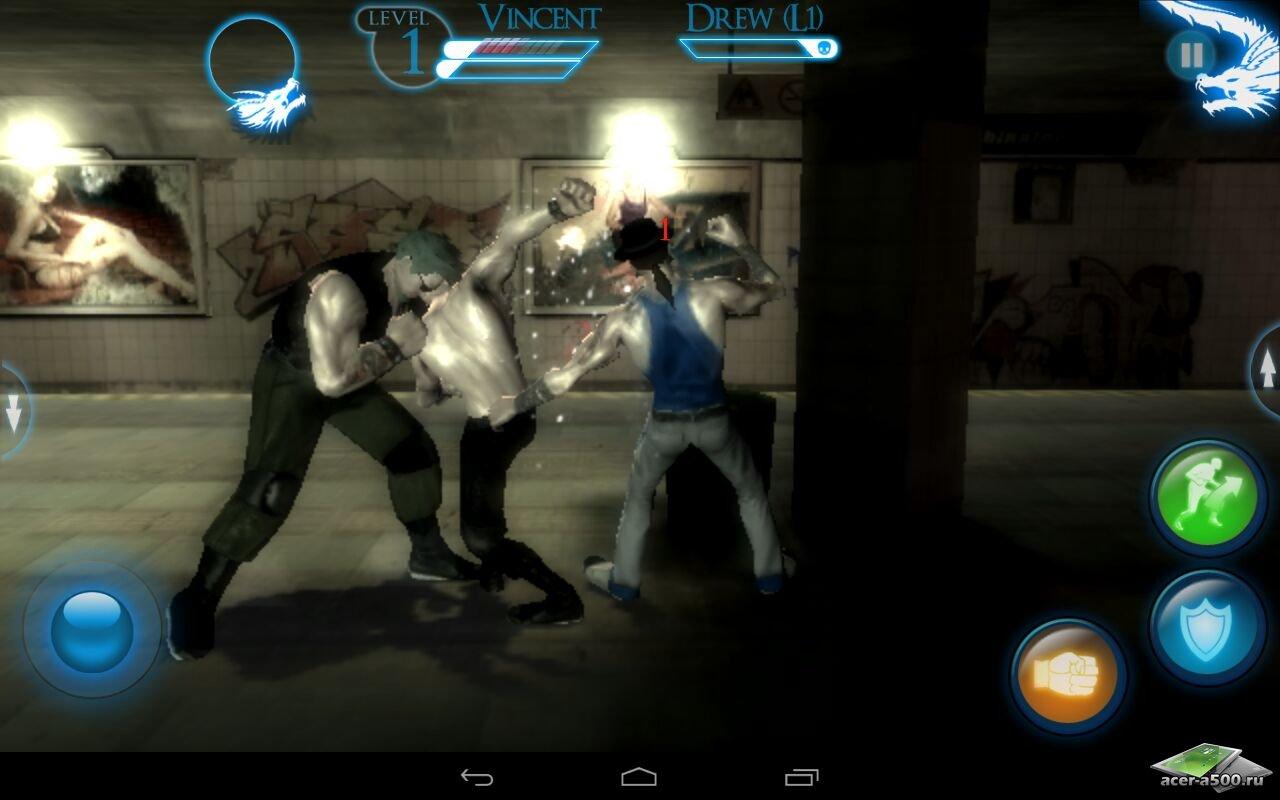 "Игра ""Brotherhood of Violence"" на Андроид"
