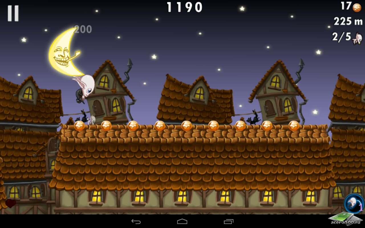"Игра ""Nosferatu – Run from the Sun"" для планшетов на Android"