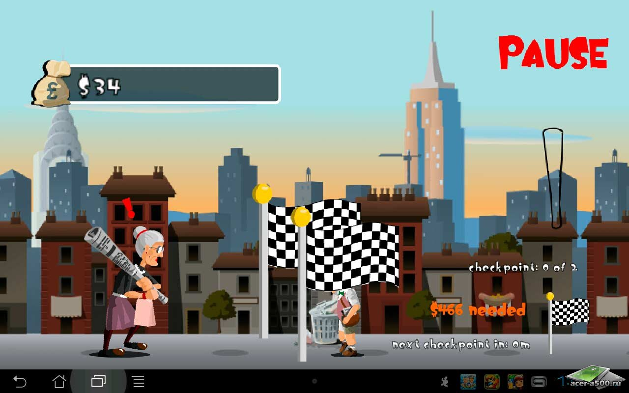 "Игра ""Angry Gran 2"" для планшетов на Android"