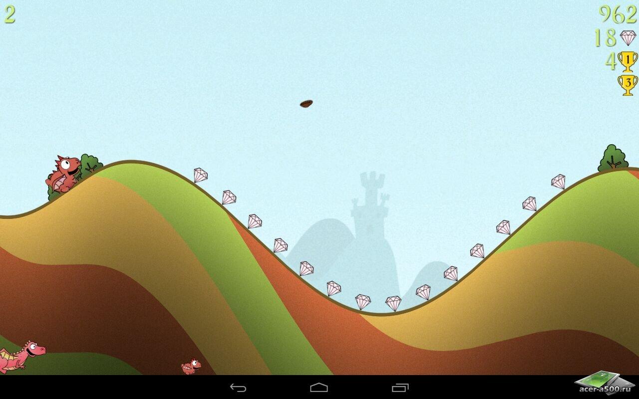 "Игра ""Dragon, Fly!"" на Андроид"