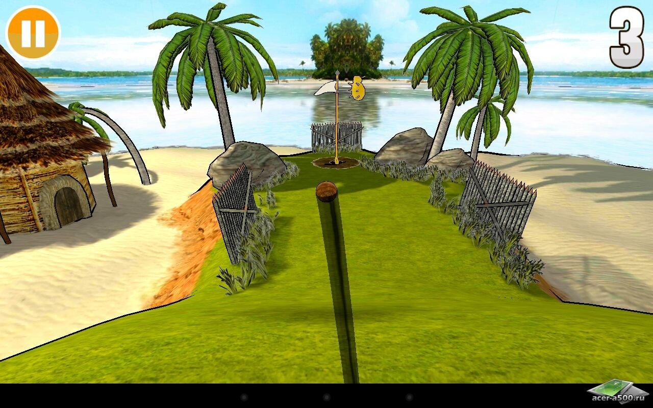 "Игра ""Armaroller (3D Mini Golf)"" для планшетов на Android"