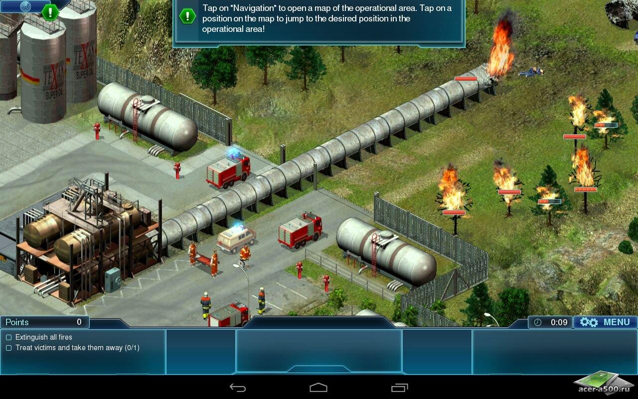 """Игра """"Emergency"""" для планшетов на Android"""