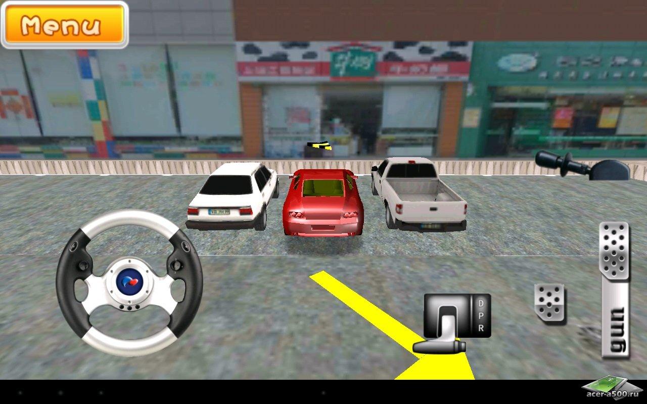 """Игра """"Driving School 3D"""" для планшетов на Android"""