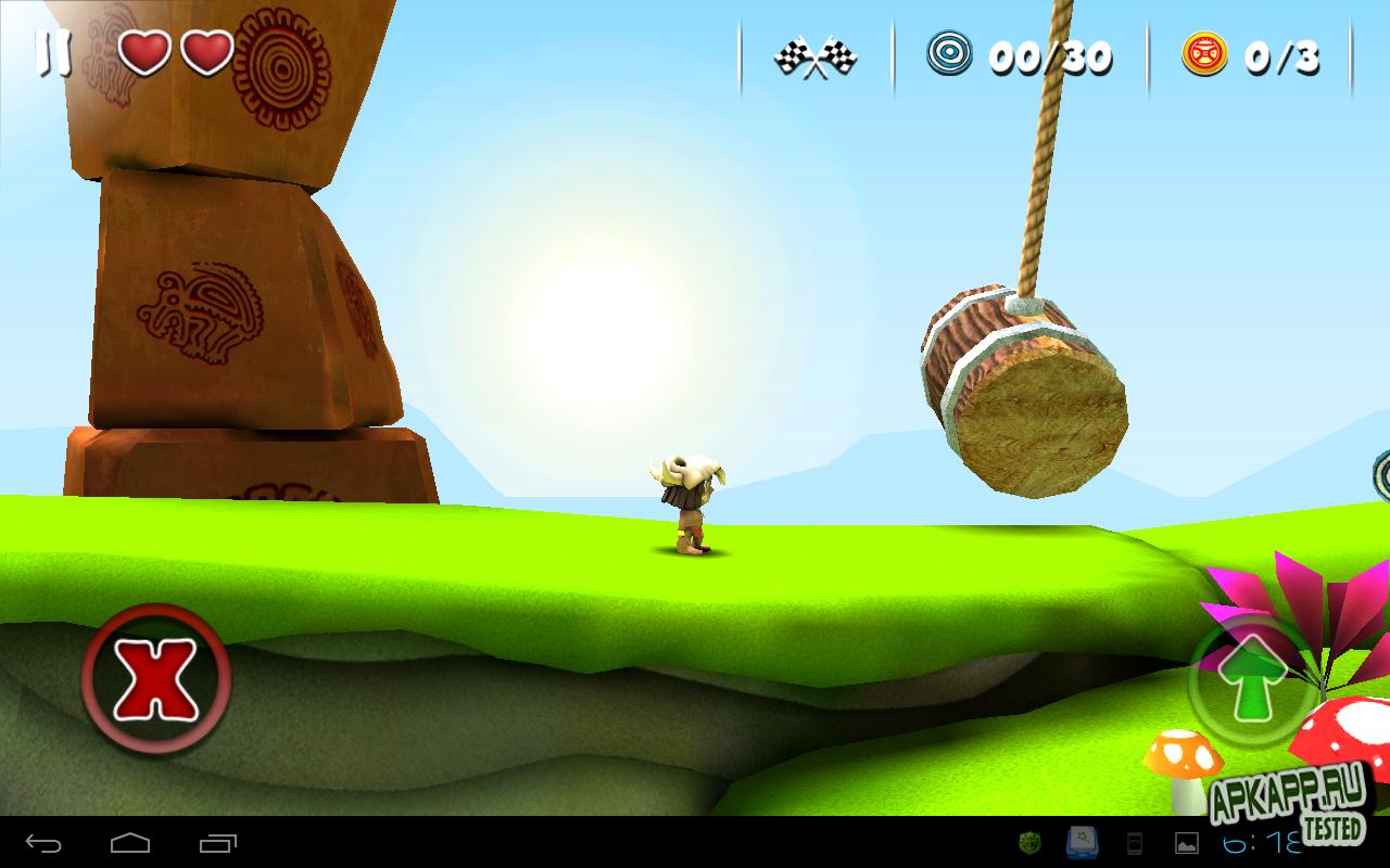 """Игра """"MANUGANU"""" для планшетов на Android"""