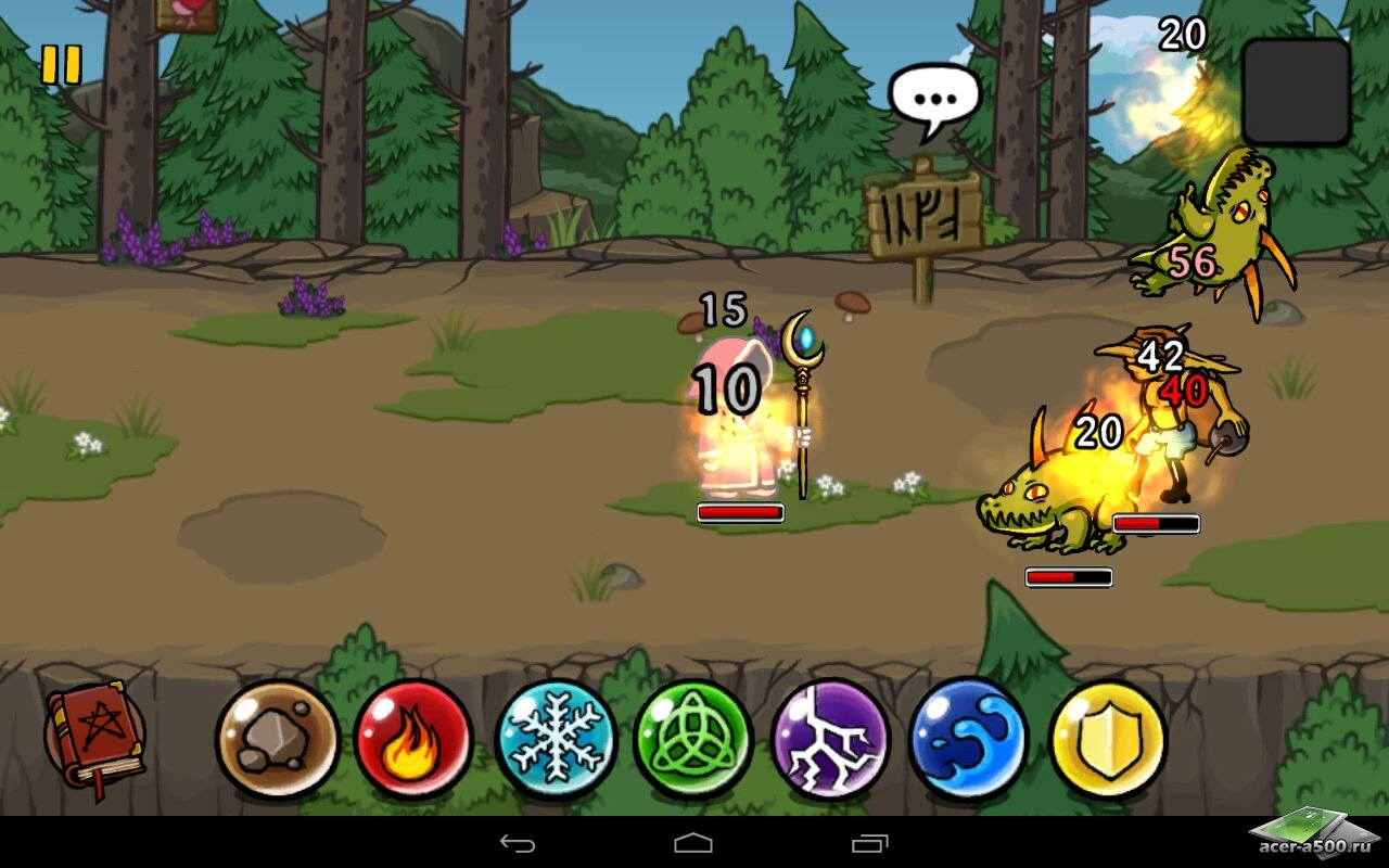 "Игра ""Magicka"" для планшетов на Android"
